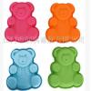 DIY烘焙模具乖乖小熊硅胶巧克力模硅胶卡通手工皂模小熊蛋糕模具