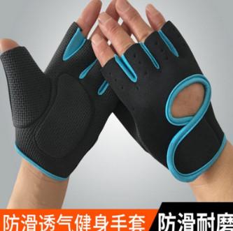 耐磨举重训练战术手套 男士运动健身手套半指 户外防滑骑行手套