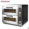 乐创 烤箱商用 烤炉双层蛋糕面包大烘炉微电脑电烤箱二层披萨烤箱
