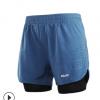 艾速欧男跑步三分宽松(带内网)速干透气马拉松健身运动短裤薄款