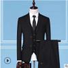 男式西服套装2019秋季新款西装男韩版修身西装套装结婚礼服三件套