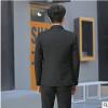 2019新款男士西服套装韩版修身职业大学生正装商务结婚西装