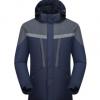 厂家批发 男士户外服冲锋衣 两件套带反光可定制工作服工装 1868
