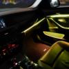 适用于宝马5系三色氛围灯 BMW3色四门中控汽车LED灯带 车内气氛灯