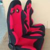 厂家直销改装汽车座椅通用型单滑轨菠萝布定制电竞椅赛车座椅