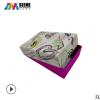 定制天地盖包装盒 彩色精裱盒定制 服装包装盒 烫金UV包装盒