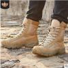 新款空降靴透气军靴男超轻作战靴男工装靴户外陆战靴