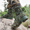 超轻猎人迷彩作战靴沙漠靴高帮户外战术靴特种兵07作战靴作训军靴