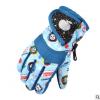 儿童冬季滑雪手套防水加厚卡通男女童保暖骑行手套