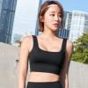 2019新款欧美瑜伽运动内衣女 健身美背U型聚拢防震跑步运动文胸