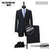 青岛开发区男式西服套装订做 韩版修身职业商务绅士宴会婚礼西装