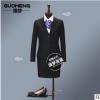 烟台西装亚博体育app在线下载厂家 银行4S店移动公司职业女式西服套装定做