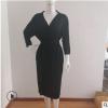 2019亚马逊春秋季新品开衫女士家居服和服领睡袍莫代尔浴袍超柔