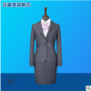 女西服职业套装制服 ol西装白领修身两件套西服 可亚博体育app在线下载