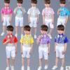 六一儿童演出服合唱服中小学生男童亮片主持人服装幼儿表演服儿童