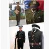 二狗子汉奸服装黑色民国警察巡捕房伪军服装国民党男军官表演出服