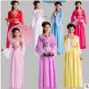 古装汉服女仙女装嫦娥服装清新淡雅襦裙性感七仙女贵妃装古装女