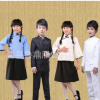 合唱服儿童民国学生装女表演服装男童民族风演出服古装毕业摄影服