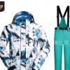 一件代发 滑雪服男套装单板韩国防水防风透湿保暖水墨画 厂家直销