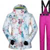 MUTUSNOW/牧途雪 滑雪服女套装韩国冬季户外保暖透气新潮滑雪服女