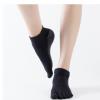 厂家批发外贸专业纯棉瑜伽袜子 防滑五指袜瑜伽袜运动袜瑜珈袜
