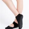 厂家批发外贸纯棉五指袜女露背防滑瑜伽袜分趾袜子时尚运动五趾袜