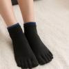 新品瑜伽袜 舞蹈五指袜健身女袜 女初学者练习防磨脚纯棉五趾女袜