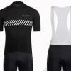 TOSO STEP夏季自行车骑行服套装 短袖上衣背带短裤自行车服 车队