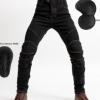 现货供应越野摩托车冬季骑行骑士裤摩托车牛仔裤赛车裤防摔机车裤