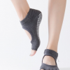 女士防滑瑜伽袜露趾露背瑜伽袜五趾袜子瑜伽辅助用品袜一件代发