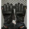 新款ROCK BIKER冬款防水加厚保暖摩托车骑行手套 防摔滑雪触屏手