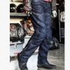 越野摩托车骑行裤 修身款赛车裤 护具立体剪裁摩托车裤机车牛仔裤