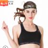 批发定制跨境无钢圈睡眠健身服瑜伽运动文胸 迷彩训练运动内衣 女