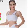 春之欧品牌运动内衣女透气健身瑜伽性感美背运动文胸图案logo定制
