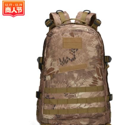 跨境专供军迷3D背包野营户外登山运动双肩迷彩包战术背包
