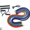 力量训练拉力绳多功能家用健身一字拉力器瑜伽TPE阻力绳11件套