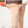 秋冬保暖防寒翻毛口护膝老寒腿弹力针织加绒护腿套户外骑行用品