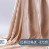 厂家直销 仿真丝韩国闪光缎 超薄缎面吊带礼服连衣裙时装面料现货