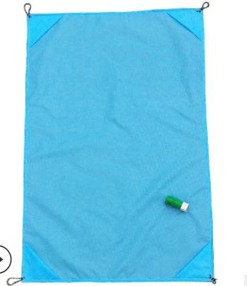 供应 沙滩野餐垫 迷你折叠口袋毯可亚博体育app在线下载颜色春游草坪地垫子爬行垫