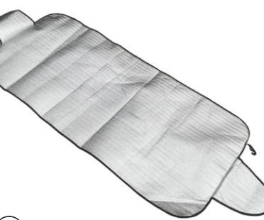 加工 简便汽车防晒罩前挡 遮阳布隔热太阳挡210D珍珠棉厂家