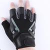 代工厂举重手套半指杠铃运动手套防滑耐磨防起茧加厚猪皮健身手套