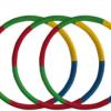 学校用加粗按摩胶棉儿童呼啦圈 幼儿园小学生专用彩色呼啦圈批发