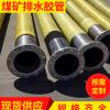 煤矿用大口径排水输水胶管 带法兰高压钢丝橡胶管排水胶管