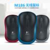 罗机M186无线鼠标 笔记本电脑办公游戏USB鼠标M185升级版无线鼠标
