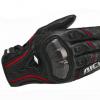 摩托车骑士手套皮机车碳纤维手套骑士骑行防滑防摔赛车手套RS-390