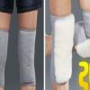 羊毛护膝保暖老寒腿冬季男女老年人膝盖加厚加长防风骑车护膝