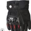 供应冬季保暖滑雪手套 户外骑行防水防风防寒加绒加厚摩托车手套