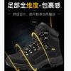 日高Nikko鞋户外高帮登山鞋男防水防滑徒步女款高帮登山鞋黑色