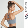 新款跑步运动背心美背防震运动文胸欧美健身瑜伽服批发 聚拢内衣