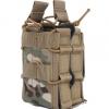 战术M4双联附件包 弹力工具包多功能杂物MOLLE包军迷小包
